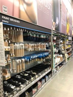 All the painting accessories