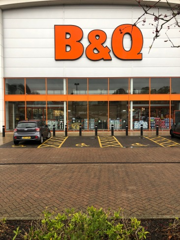 Who doesn't love B&Q!